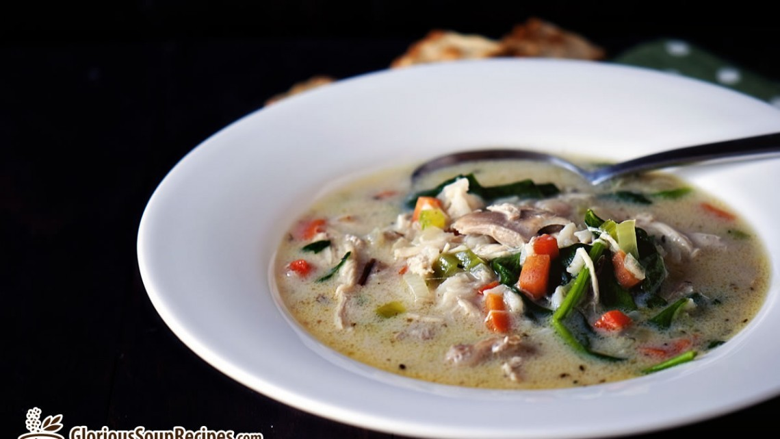 Recipe For Wild Rice Cheese Soup : Glorious Soup Recipes