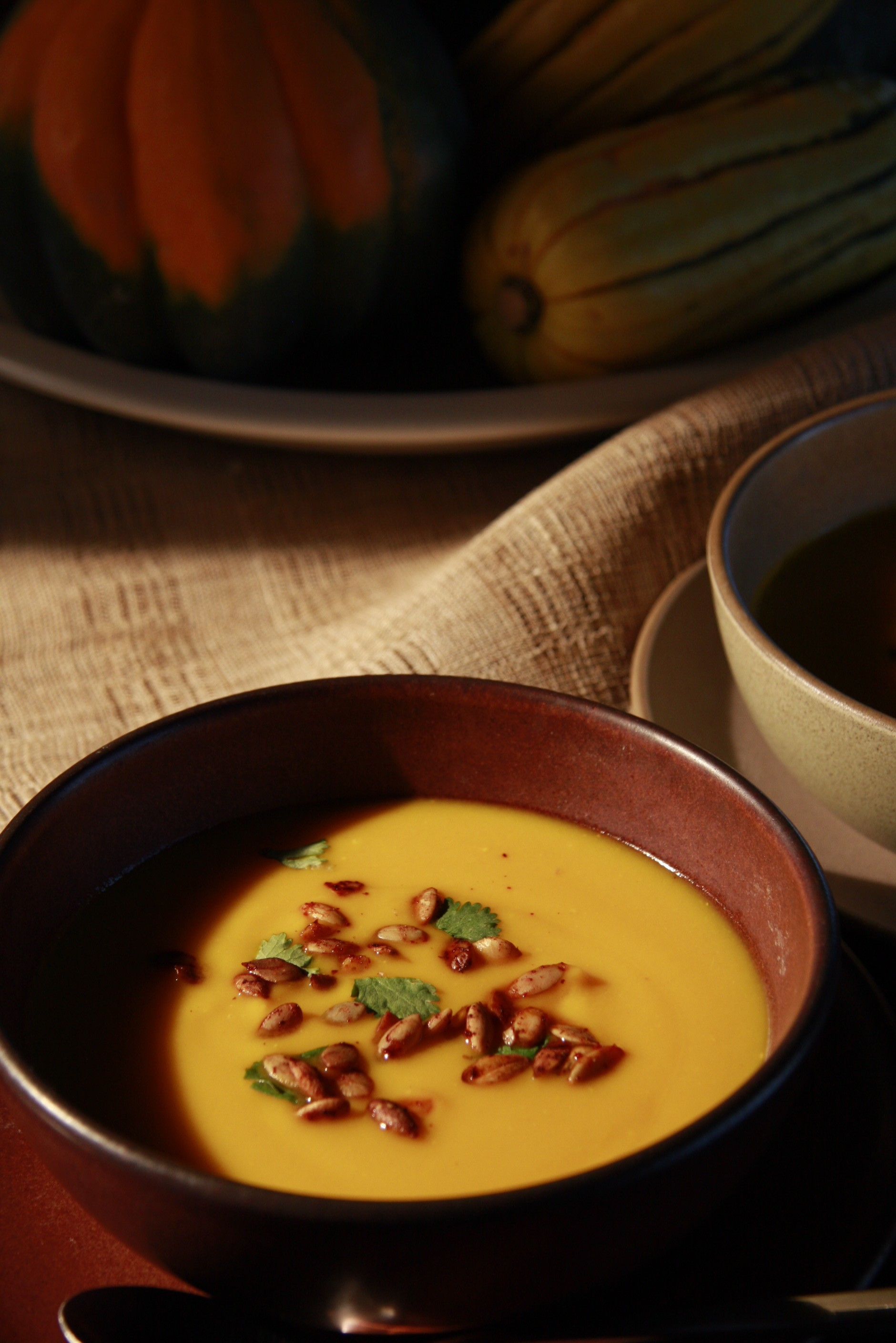 How To Make Squash and Sweet Potato Soup : Glorious Soup Recipes