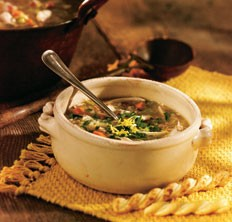Italian chicken rice soup recipe