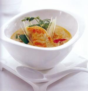 Vegetable Tom Yum Soup recipe
