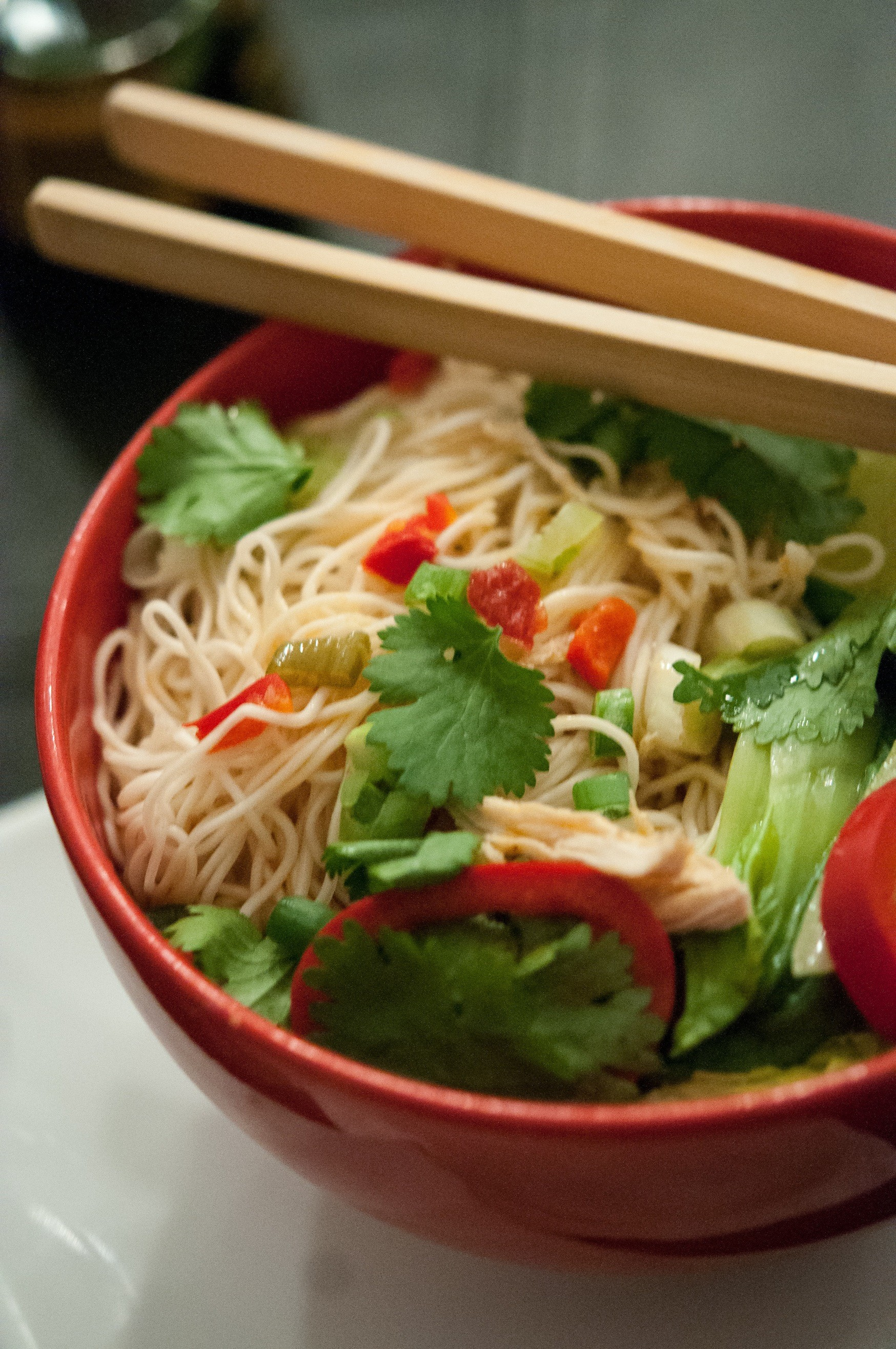 Slightly Healthier College Ramen Soup : Glorious Soup Recipes