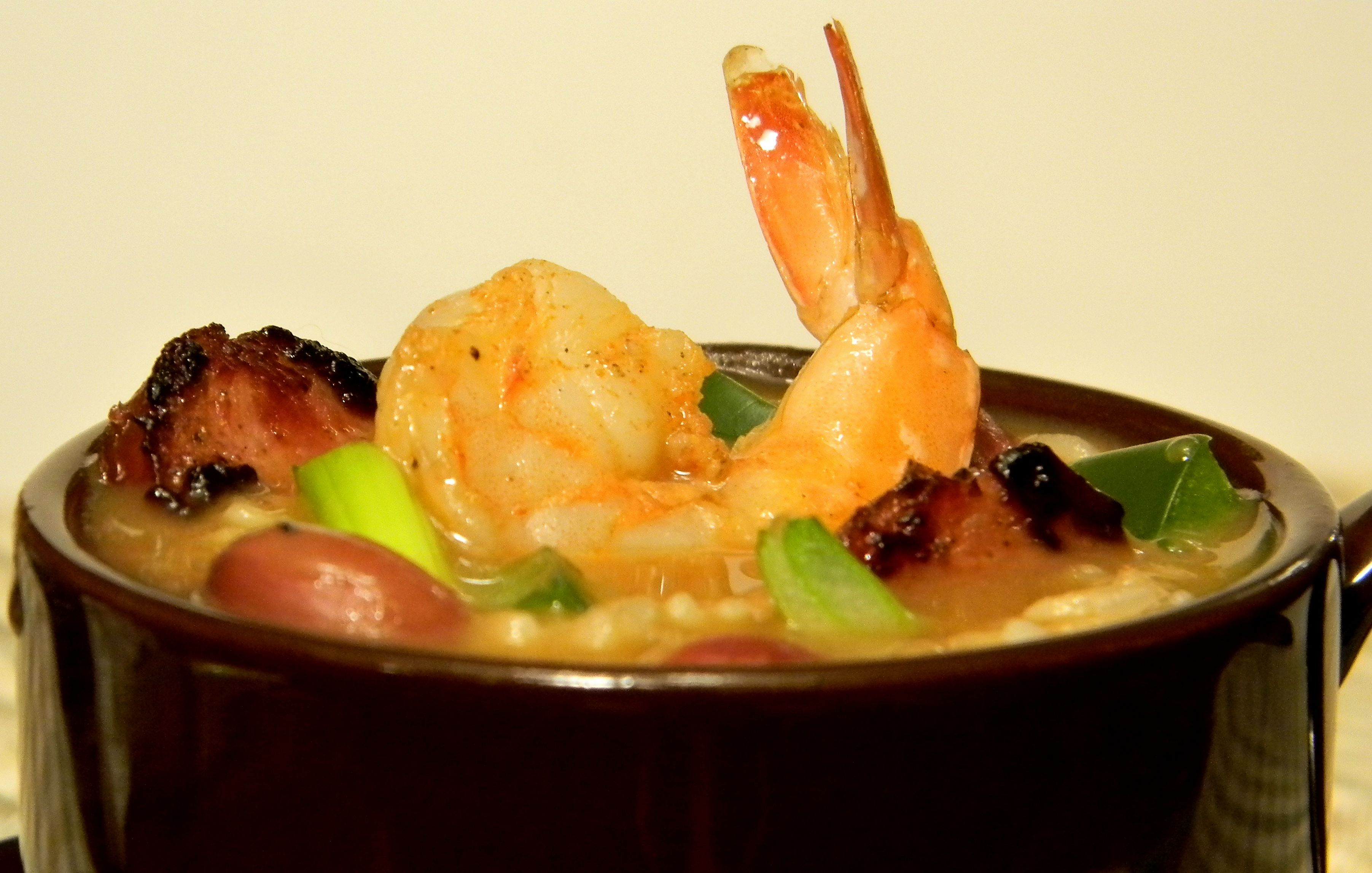 Spicy Shrimp and Red Bean Soup : Glorious Soup Recipes