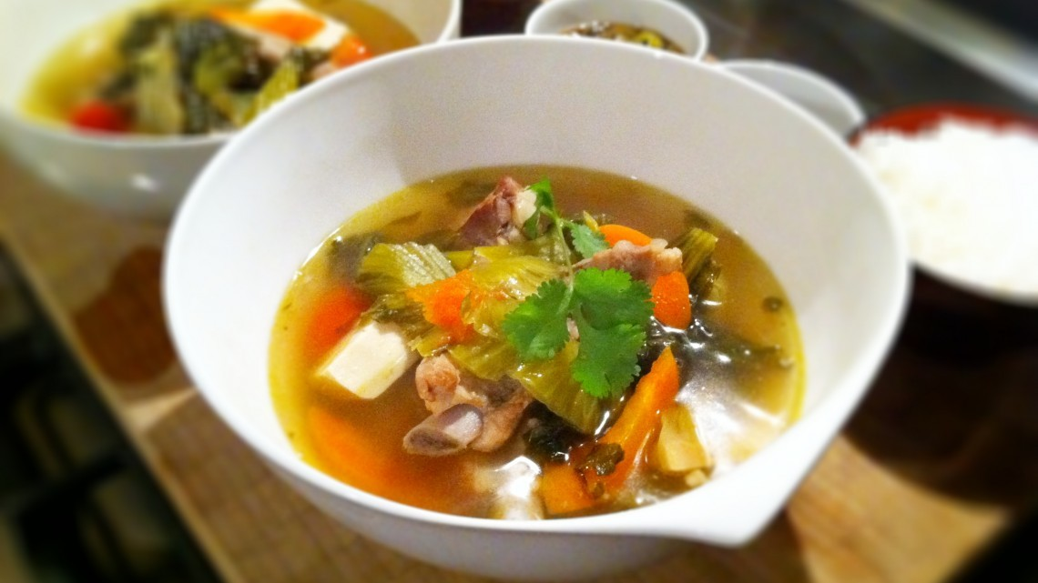 Recipe For Carrots, Potatoes, and Pork Ribs Soup