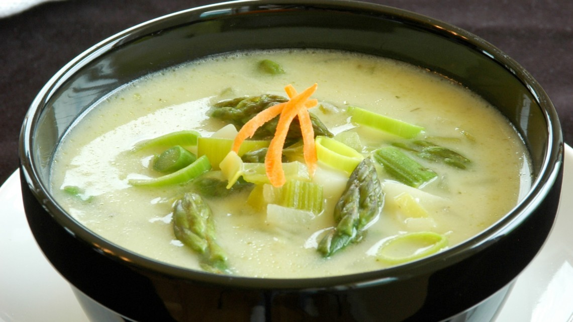 Asparagus Soup in Seconds Recipe