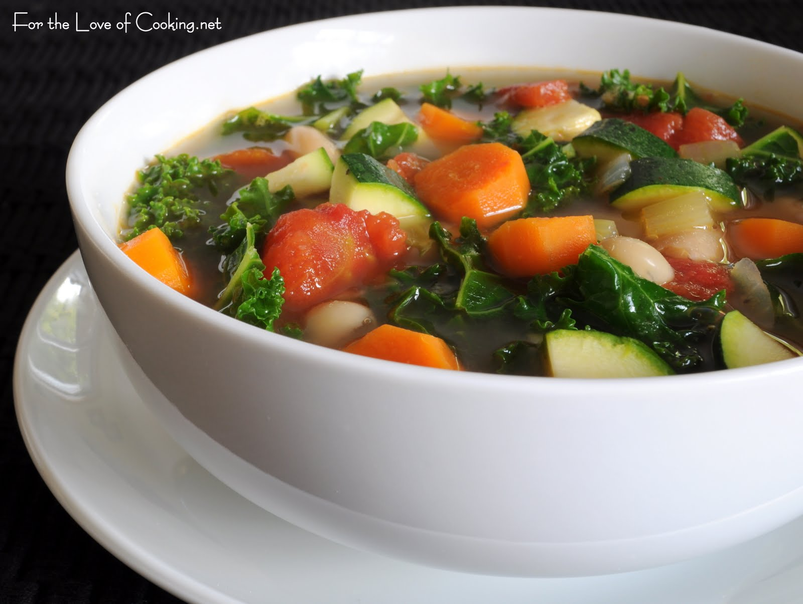 Fat-Free Vegetable Soup | Glorious Soup Recipes