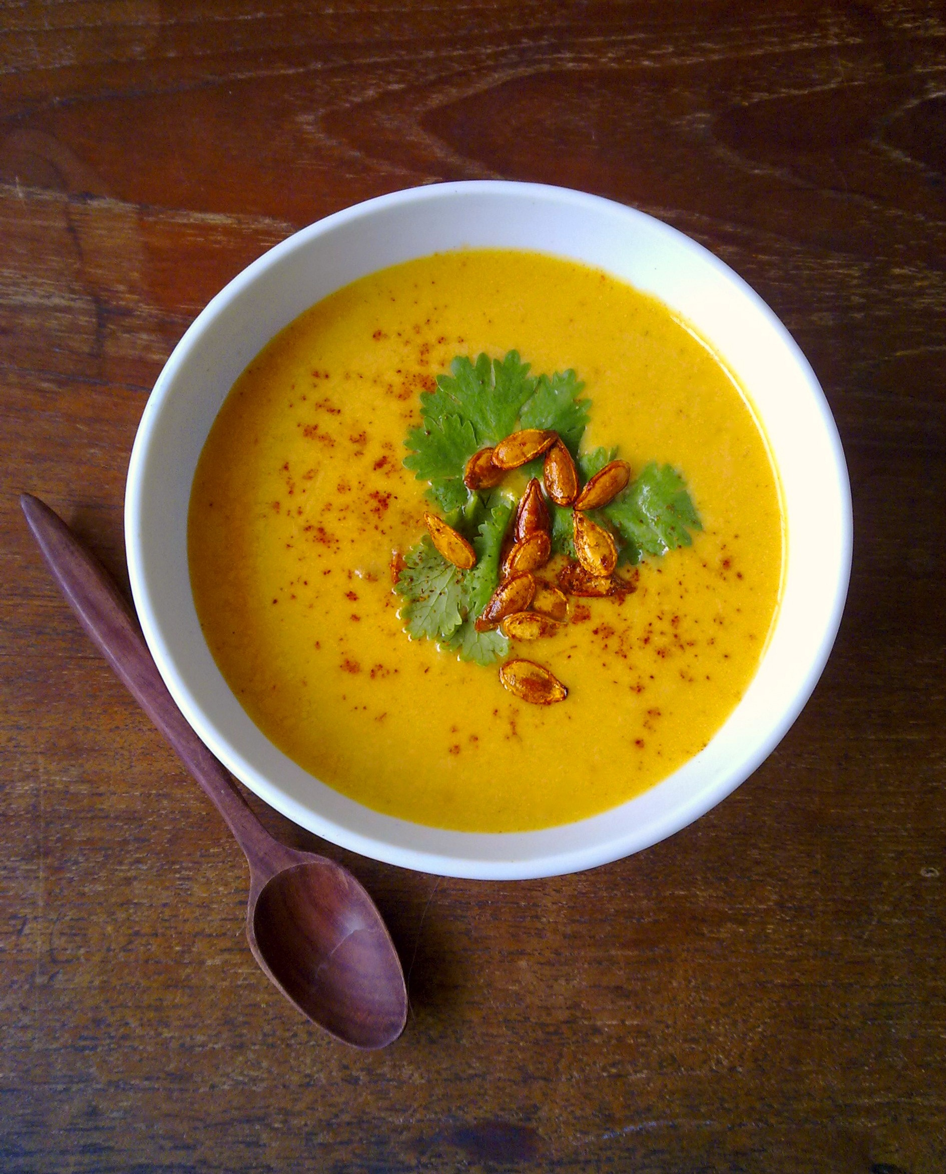 Recipe For Curried Pumpkin Soup : Glorious Soup Recipes