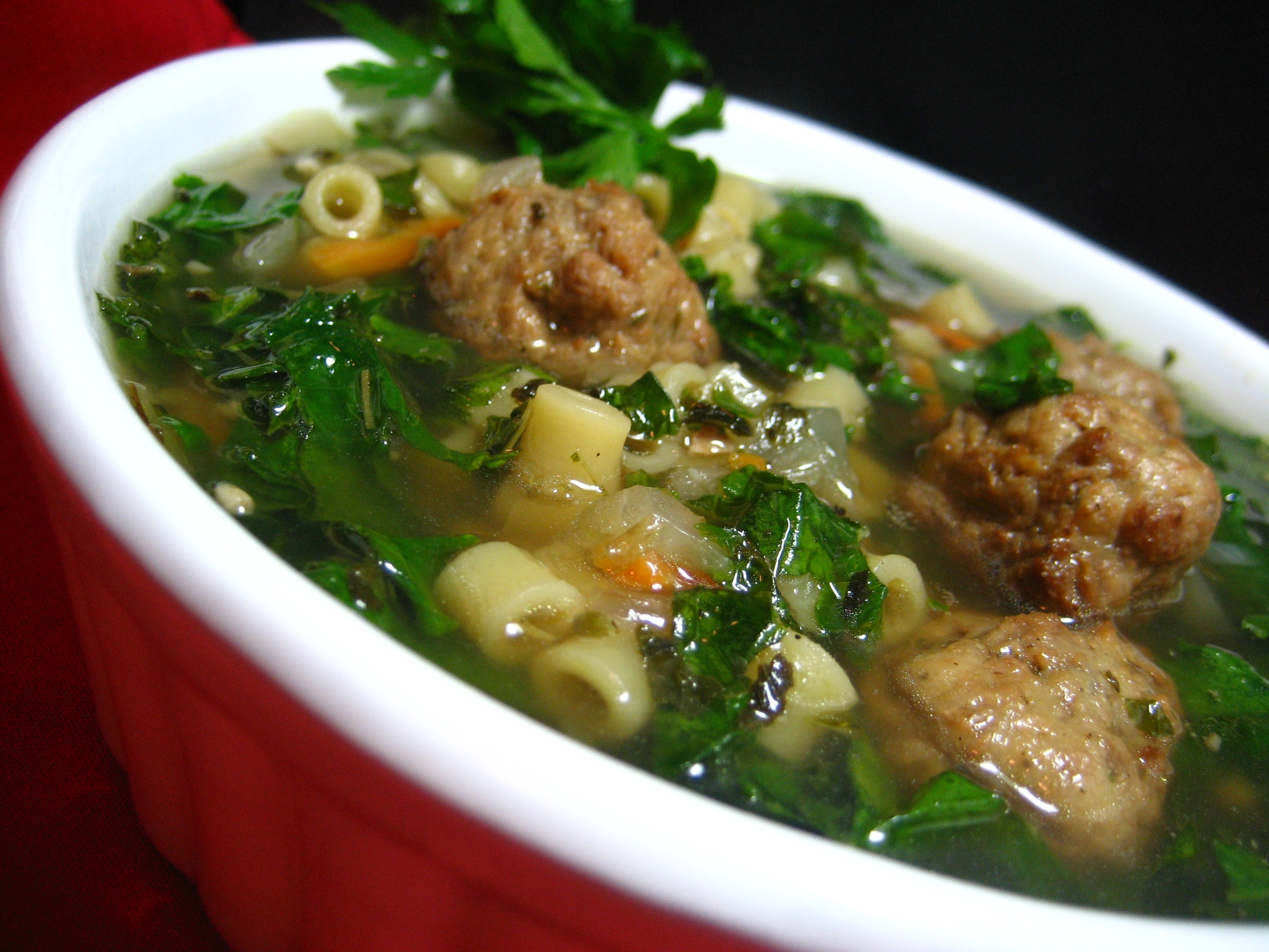 California Italian Wedding Soup Recipe - Glorious Soup Recipes