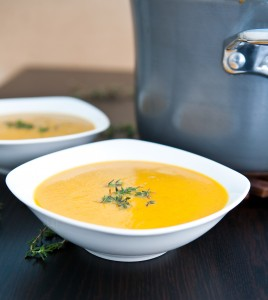 How To Make Curried Butternut Squash and Pear Soup