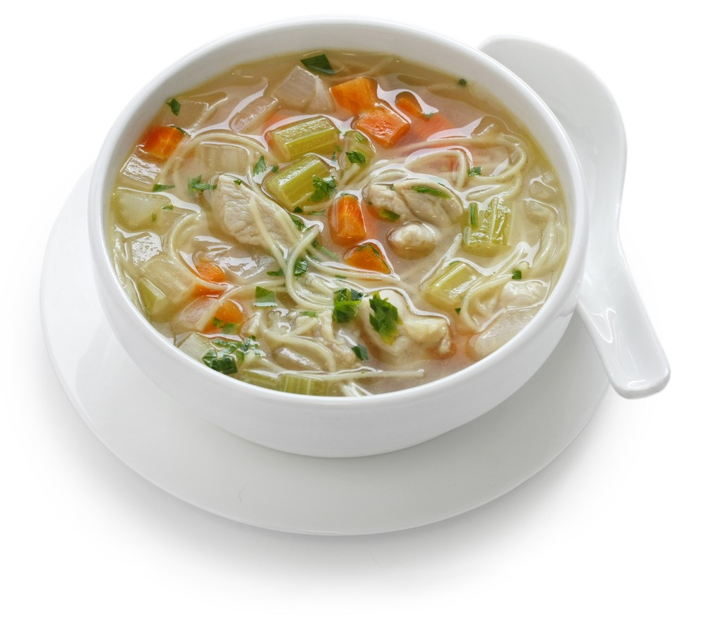 Quick and Easy Chicken Noodle Soup : Glorious Soup Recipes