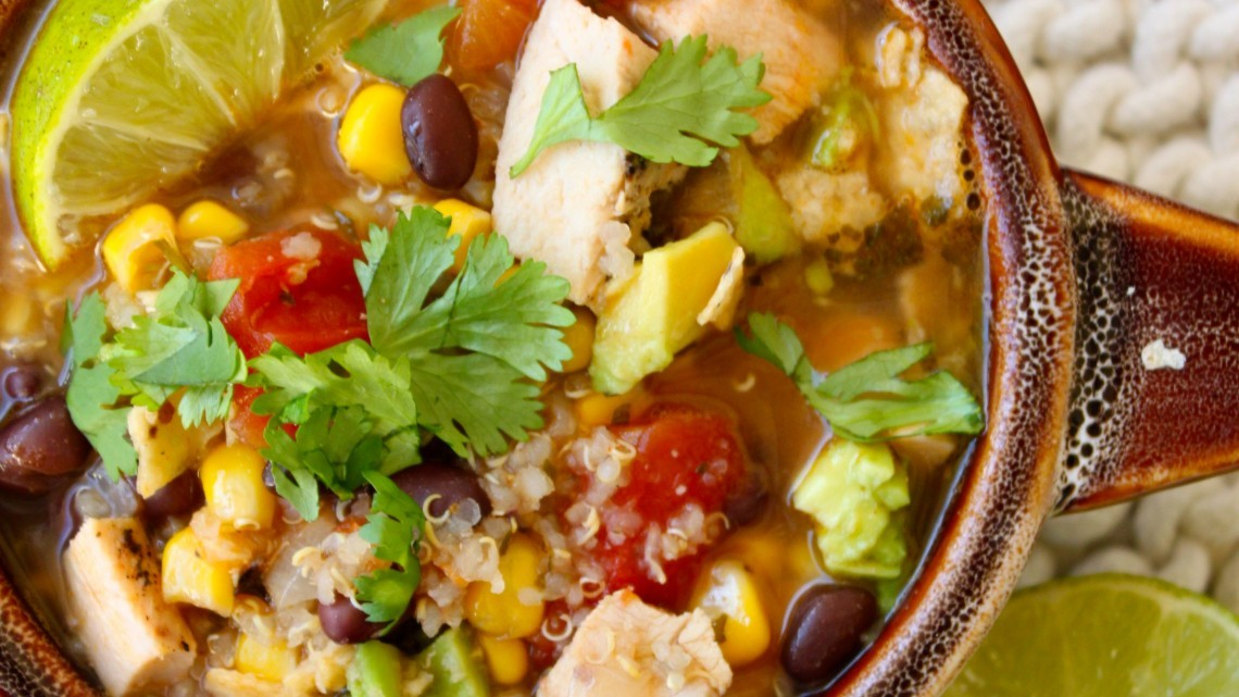 How To Make Six Can Chicken Tortilla Soup : Glorious Soup Recipes