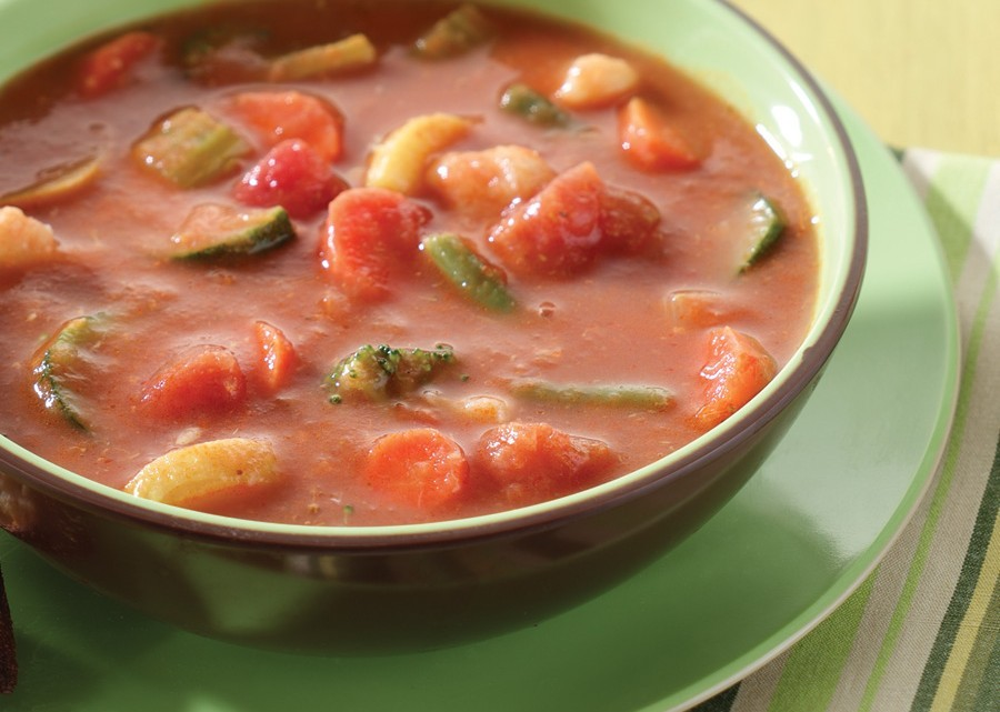 ... To Make Colene's Easy Tomato Vegetable Soup : Glorious Soup Recipes