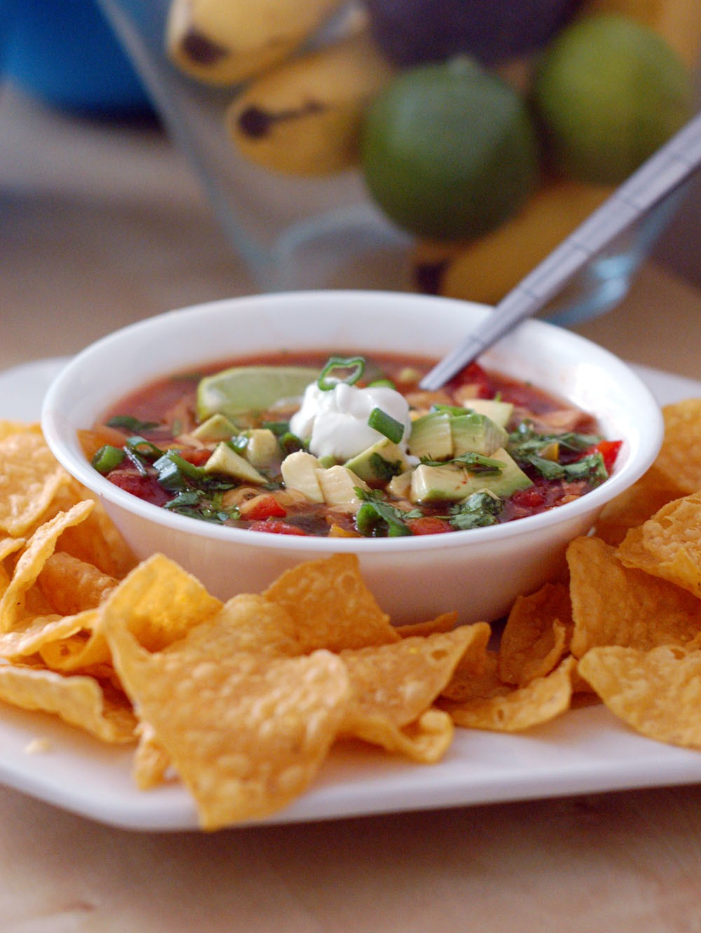 How To Make Slow-Cooker Chicken Tortilla Soup - Glorious Soup Recipes