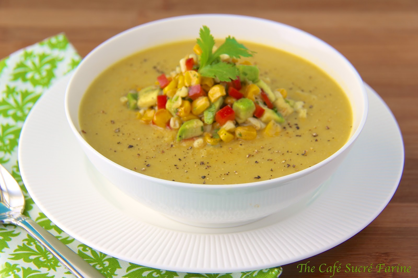 Corn and Egg Flower Soup Recipe Glorious Soup Recipes