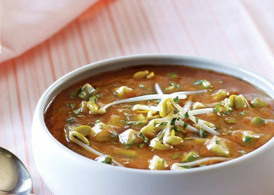 Hot and Sour Soup with Bean Sprouts : Glorious Soup Recipes