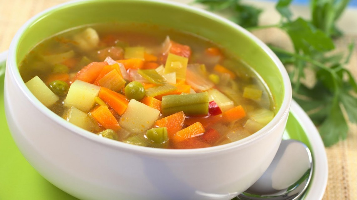 Easy Vegetable Soup II Recipe : Glorious Soup Recipes