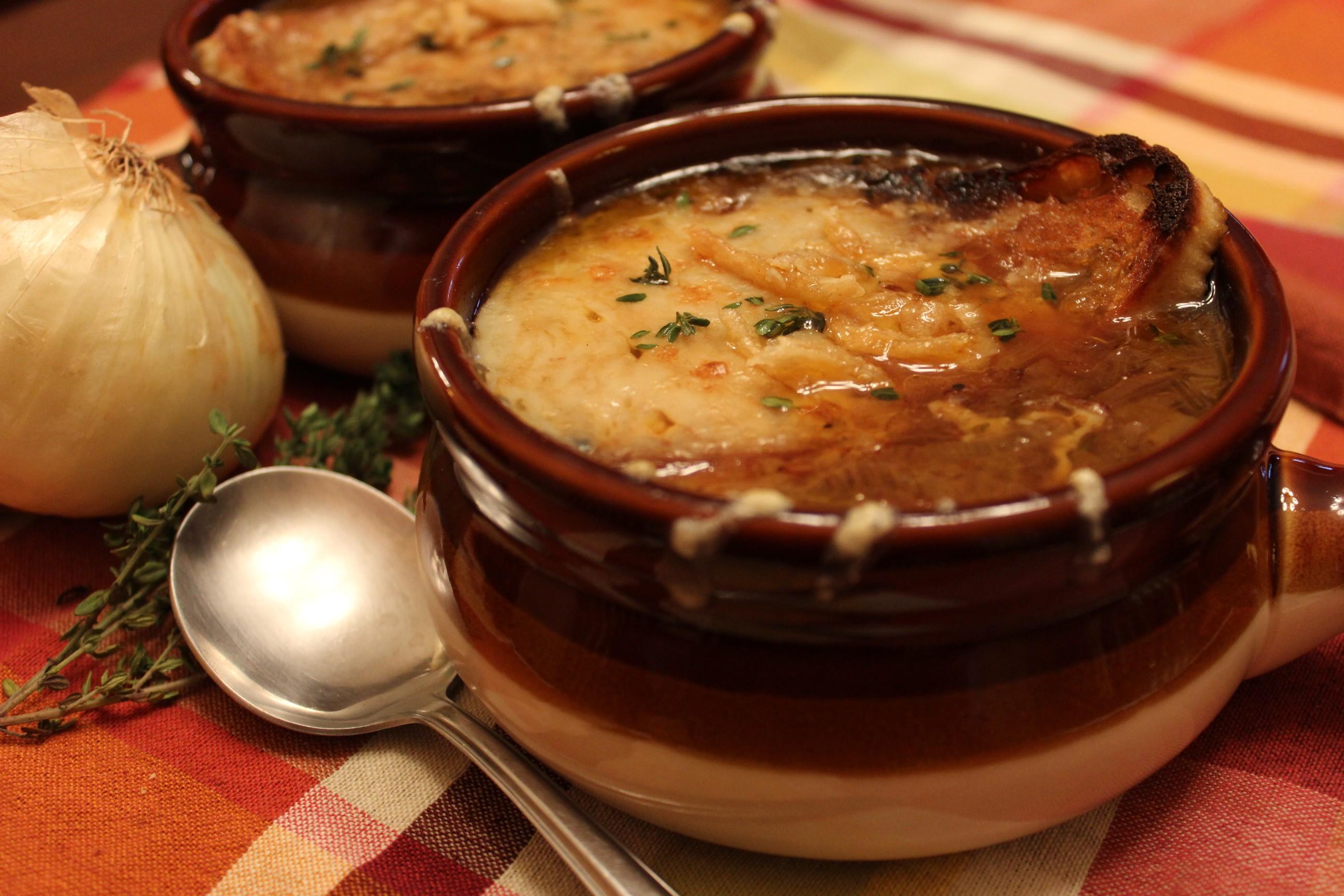 French Onion Soup II - Glorious Soup Recipes