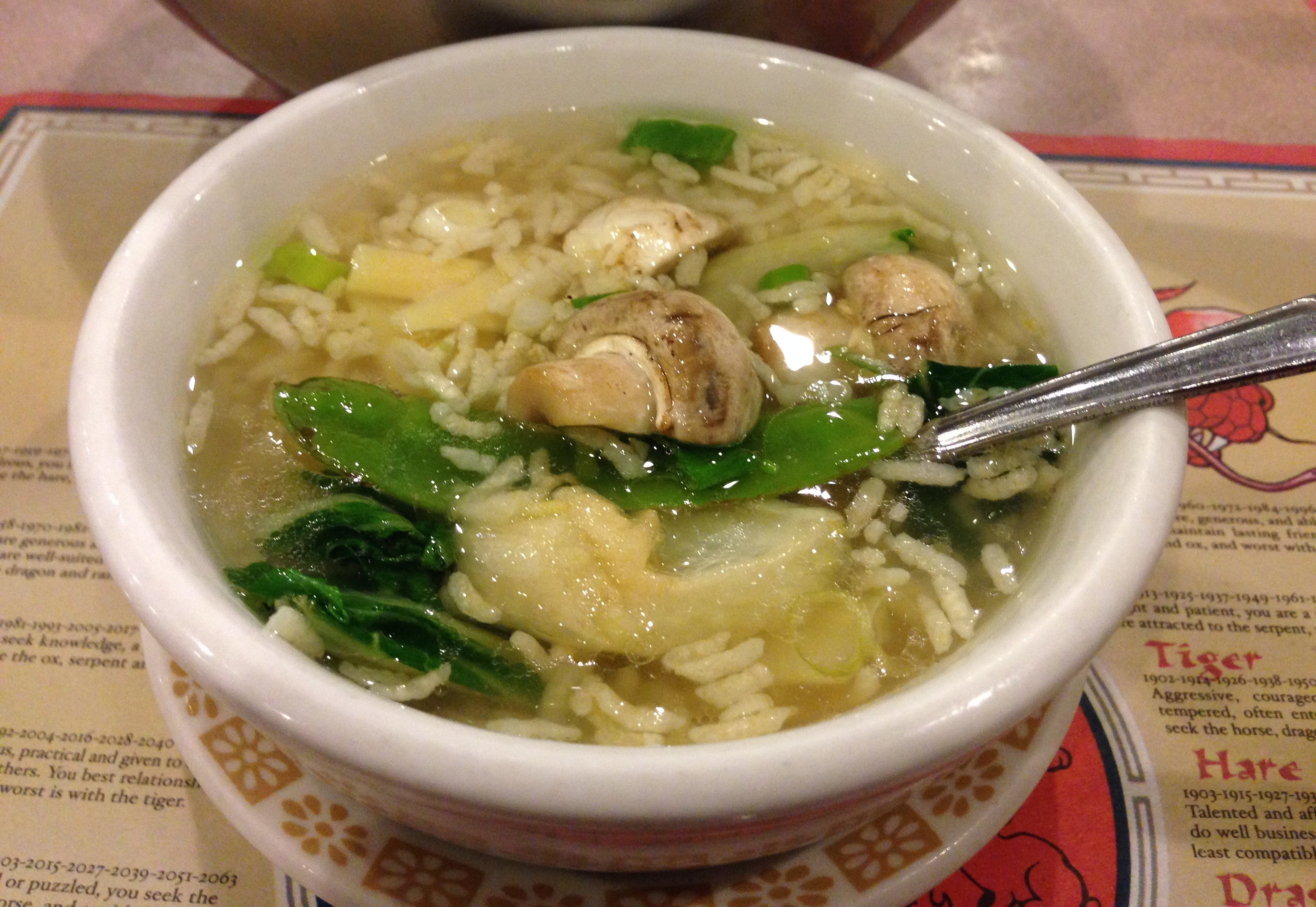 Chinese Sizzling Rice Soup : Glorious Soup Recipes