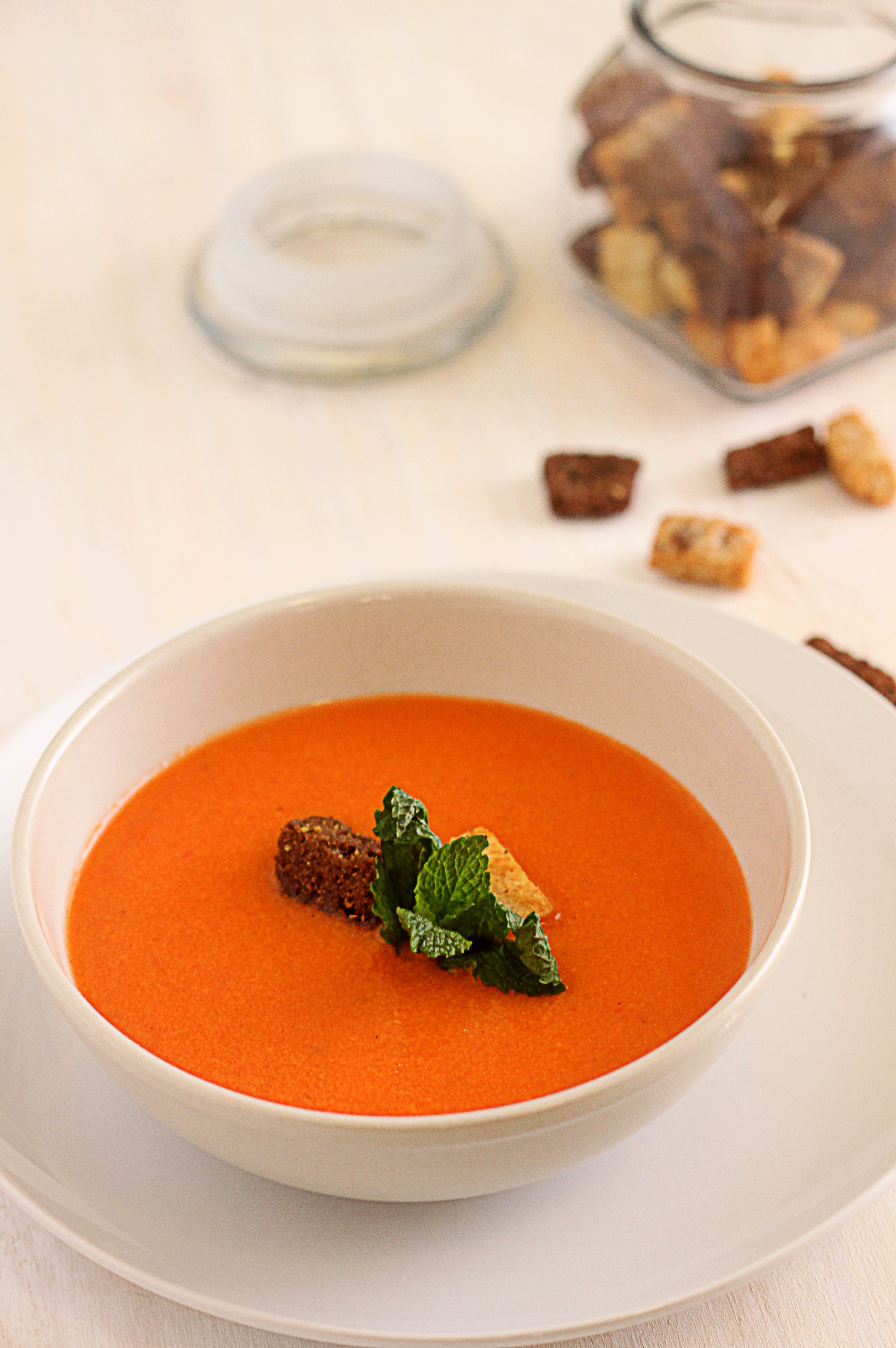 how to make cream of tomato soup glorious soup recipes. Black Bedroom Furniture Sets. Home Design Ideas