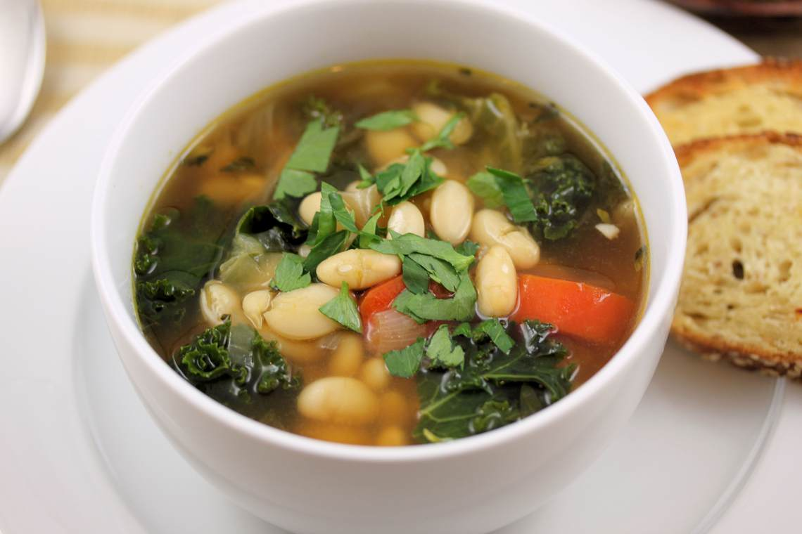 ... spinach soup 30 minute tuscan white bean soup white bean with fennel
