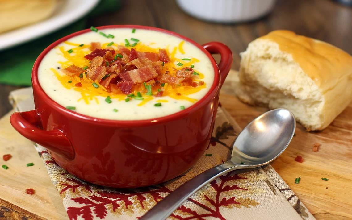 Recipe For Baked Potato Soup V : Glorious Soup Recipes