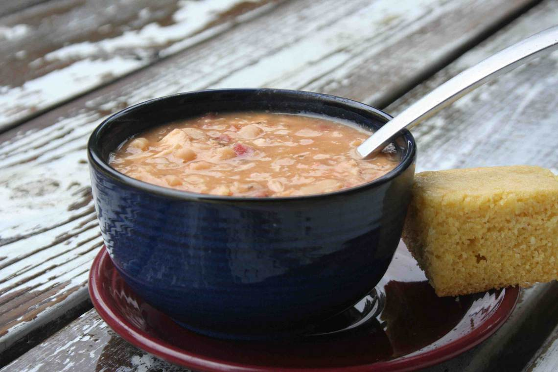 Basic Ham and Bean Soup Recipe : Glorious Soup Recipes