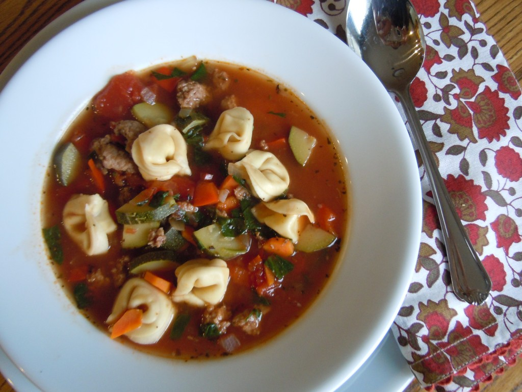 ... To Make Italian Sausage Soup with Tortellini : Glorious Soup Recipes