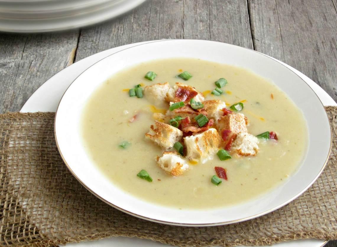 How To Make Creamy Potato Leek Soup II : Glorious Soup Recipes