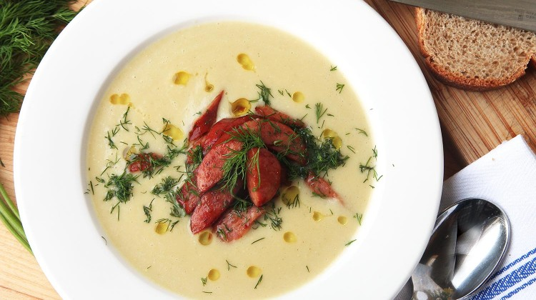 Creamy Potato Leek Soup II Recipes — Dishmaps
