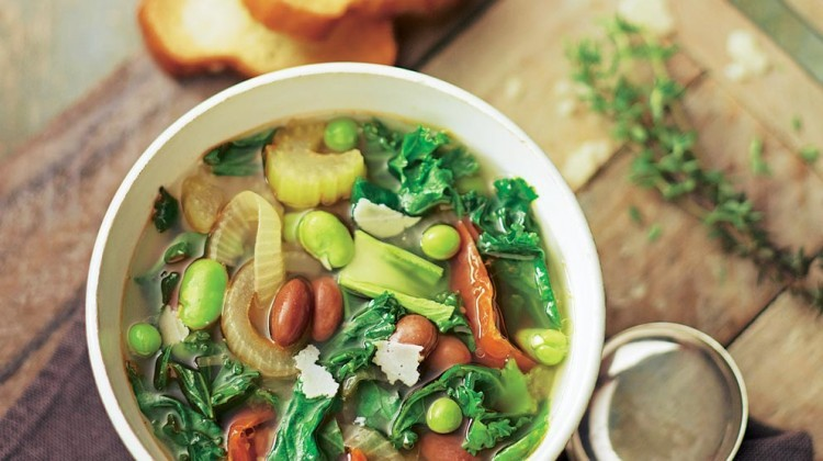 Chunky Chicken Veggie Soup Recipe
