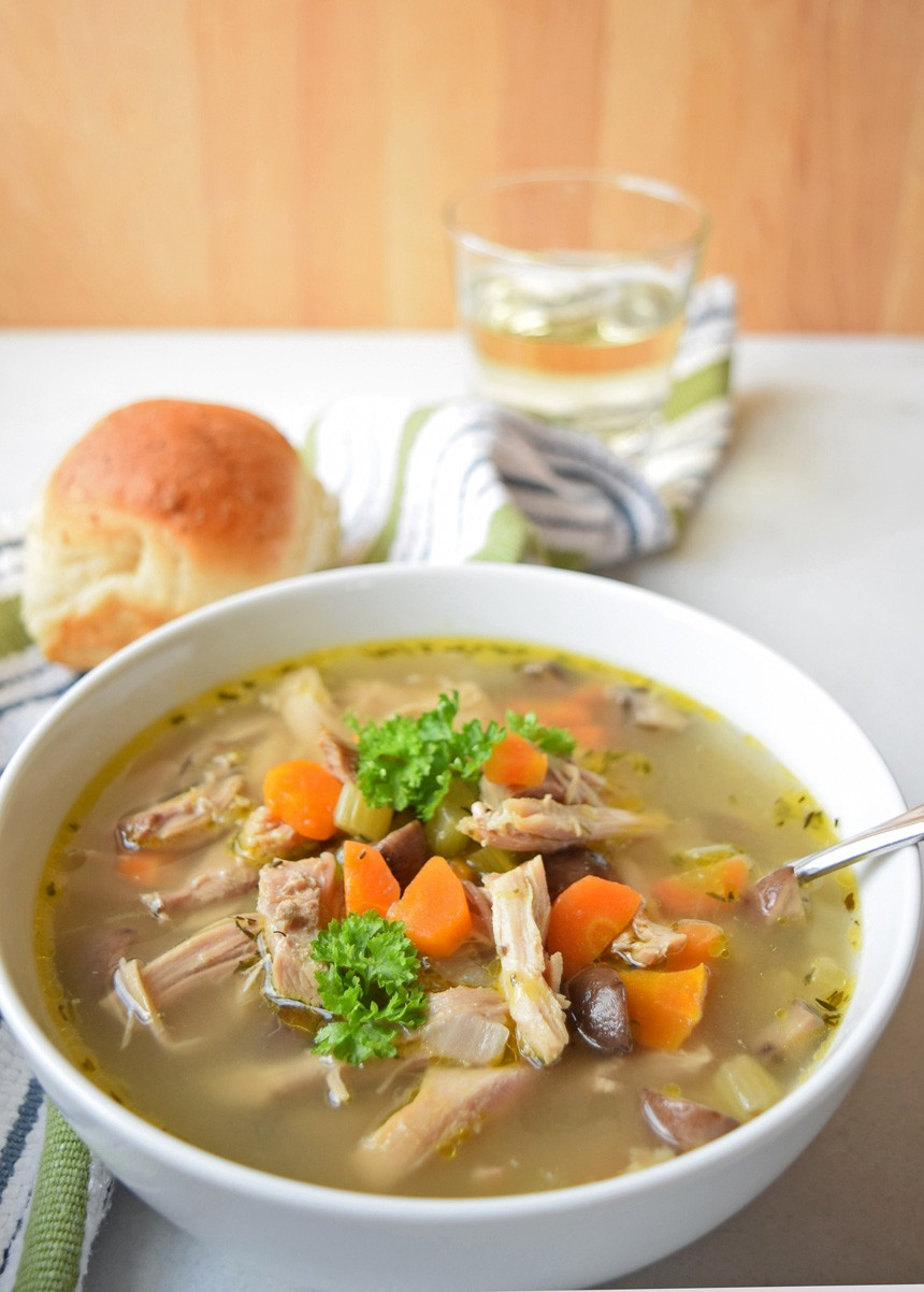 How To Make After Thanksgiving Turkey Soup Glorious Soup