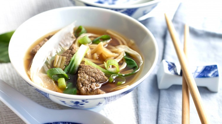 How To Make Quick Asian Beef Noodle Soup