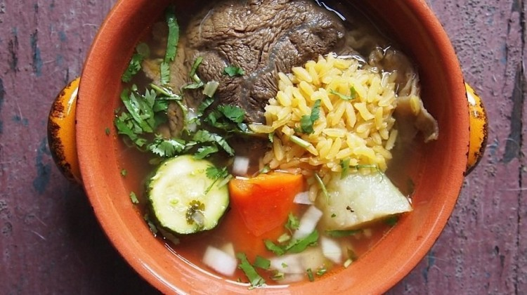 Recipe For Caldo De Res (Beef Soup)