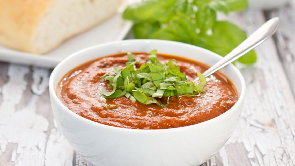 Rich and Creamy Tomato Basil Soup : Glorious Soup Recipes