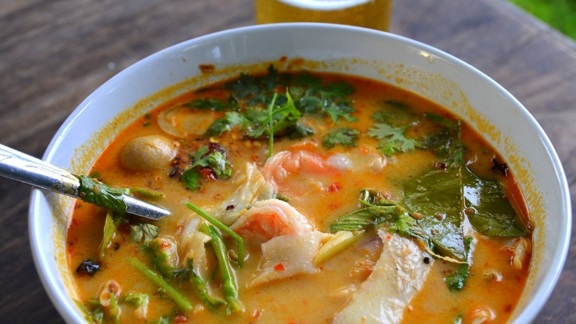 Recipe For Cindy's Thai Hot and Sour Soup : Glorious Soup ...