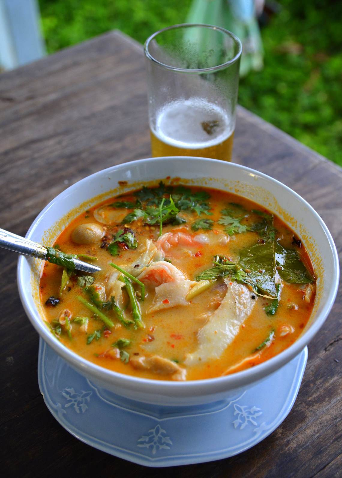 Recipe For Cindy's Thai Hot and Sour Soup : Glorious Soup Recipes