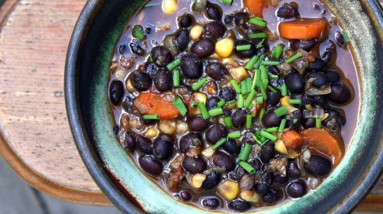 Black Bean Vegetable Soup Recipe