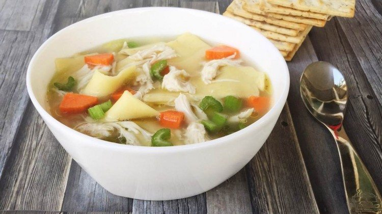 How To Make Chicken Noodle Soup III