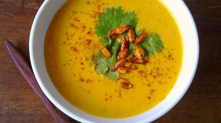 Curry Pumpkin Soup Recipe