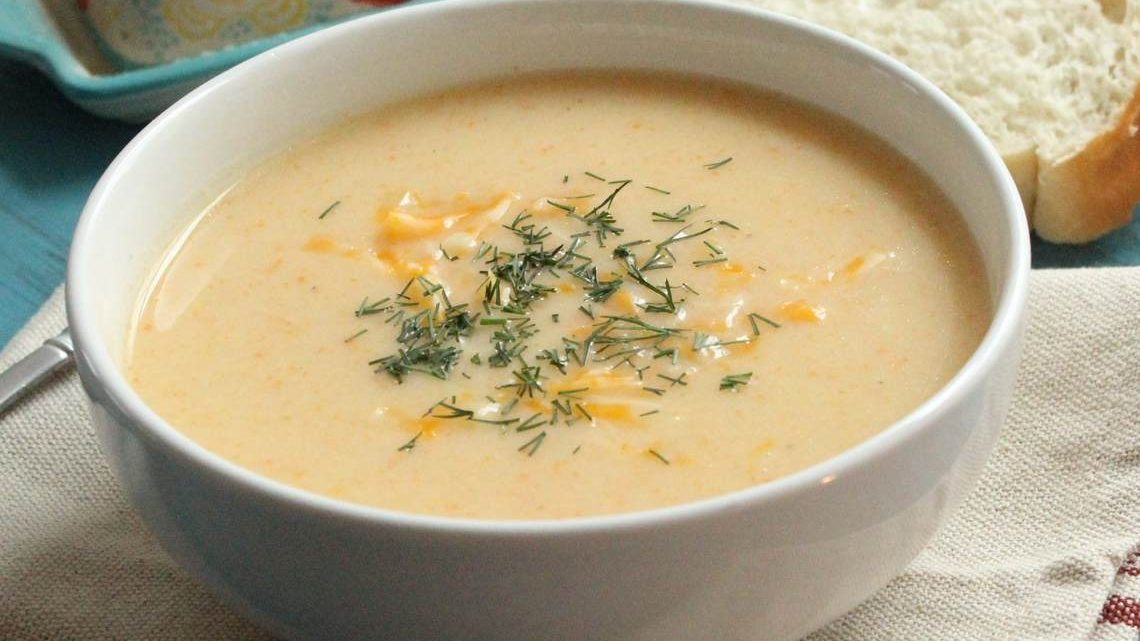 Cauliflower Cheese Soup II : Glorious Soup Recipes