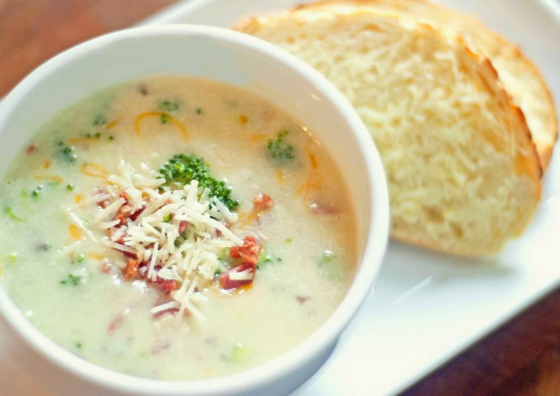 Broccoli Cheese And Potato Soup Recipe — Dishmaps